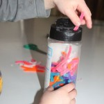 Toddler Activity: Pipe Cleaner Sprinkles