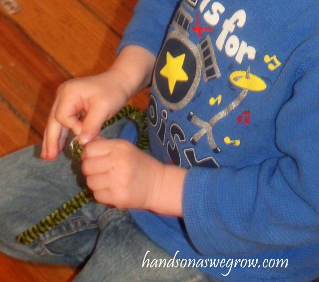 Threading Activity with Pop Can Tabs