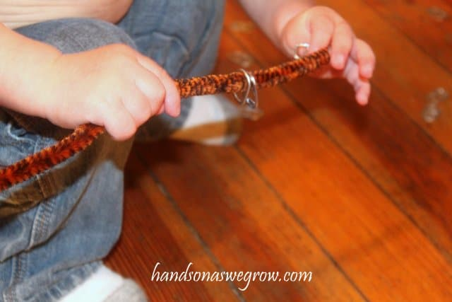Pop Can Tabs and Pipe Cleaners Activity