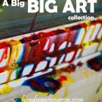 40 'Big Art' Projects for Kids!