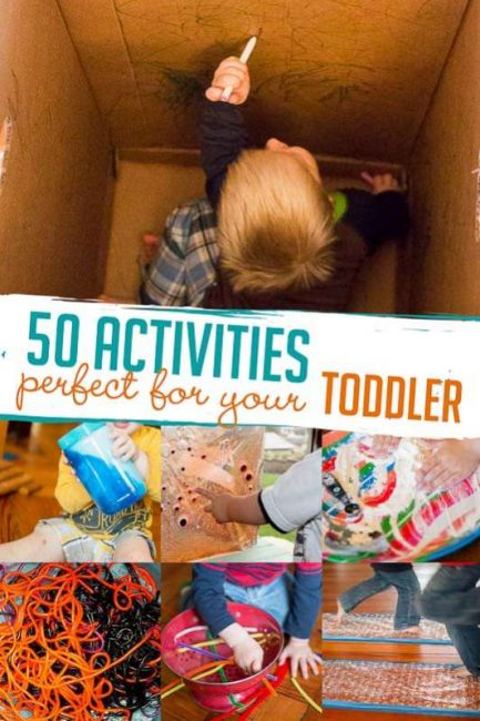 50 Activities Just For Your Toddler