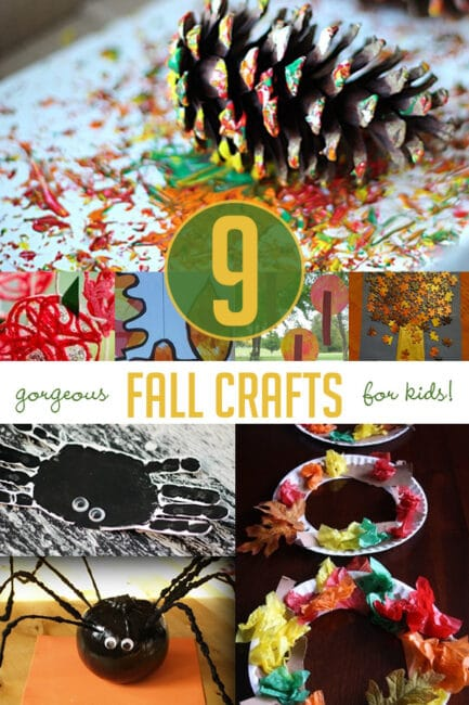 Check out these great fall craft ideas for kids!