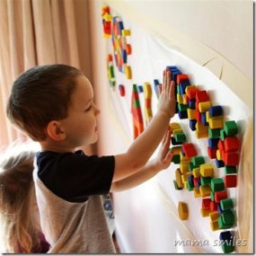 Sensory Wall: Mosaic Art from Mama Smiles