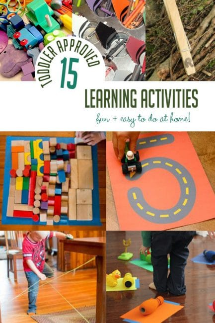 15 Easy Fun Learning Activities For Toddlers At Home Hands On As