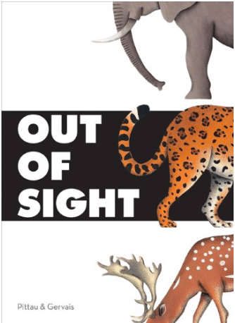What's hiding just out of sight in this interactive learning book?