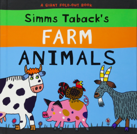 Simms Taback's Farm Animals is a giant book, with fold out pieces, that's perfect for little readers!