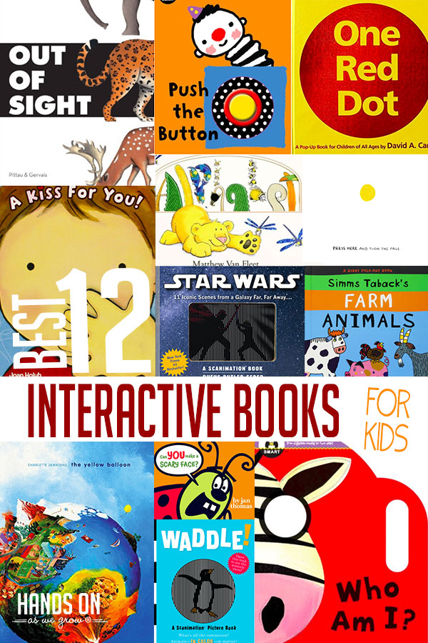 96ba47d5ed0 Spice up your reading time with these great interactive books for kids! We  love these