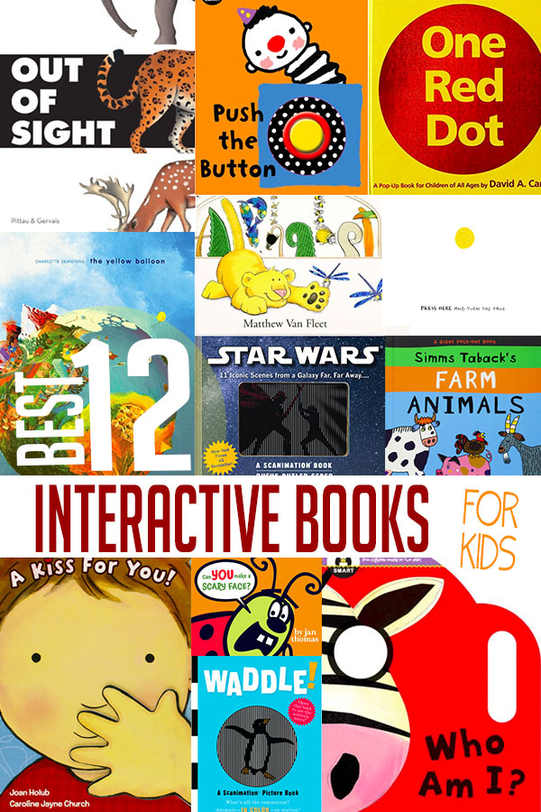 12 Best Interactive Books for Kids to Read | Hands On As We Grow®