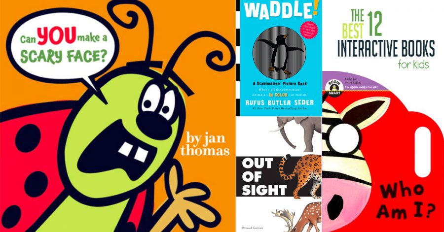 12 Best Interactive Books For Kids To Read Hands On As We Grow
