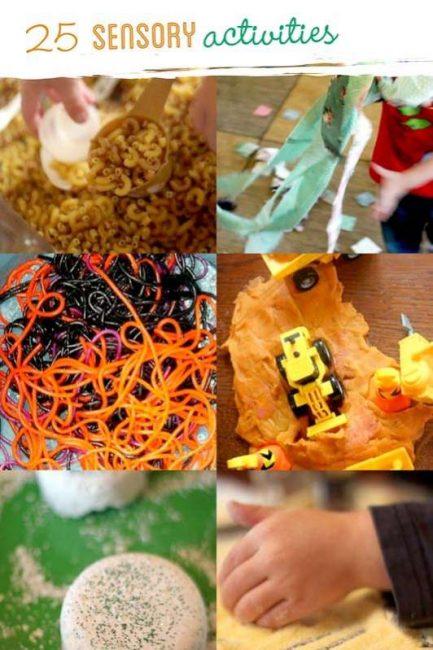 25 Sensory Activities For Kids Hands On As We Grow