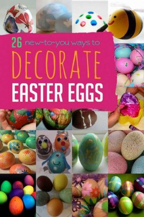 Fun New Ways To Decorate Easter Eggs With The Kids This Year