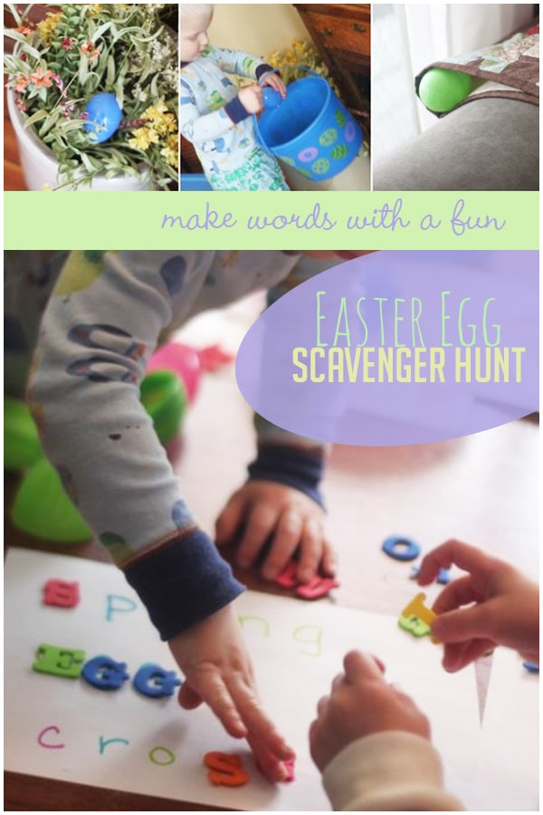 943074bc95d Make Words with a Fun Easter Egg Scavenger Hunt
