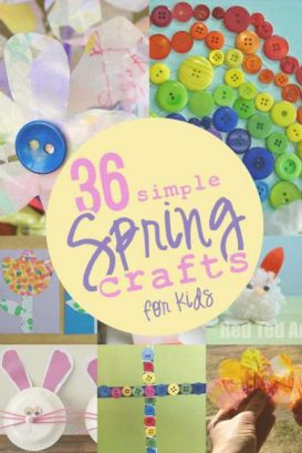 Spring crafts for kids to make