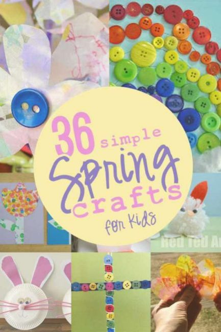 spring crafts for kids to make - Spring Pictures For Kids