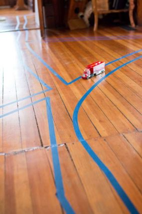 Simple Activity: A Tape Road