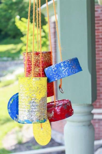 Homemade Wind Chimes the Kids Can Make! | Hands On As We Grow®