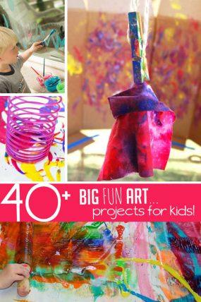 10 Creative Art Activities For Preschoolers Hands On As We Grow