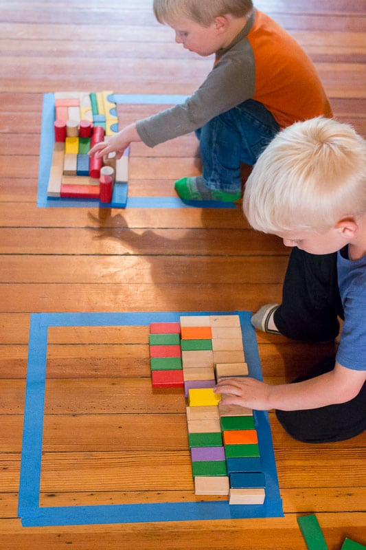 Make Your Own Puzzle With Blocks