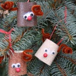 Toilet Roll Reindeer Craft