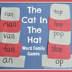 SORT Word Families and Rhymes