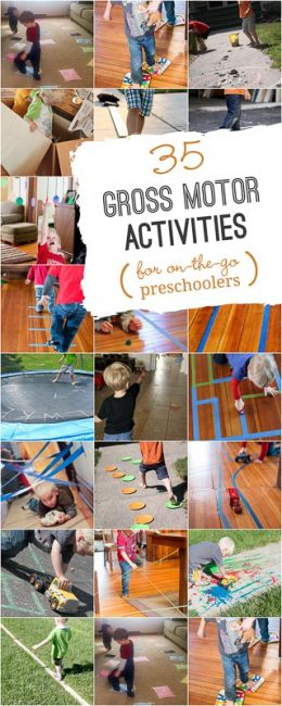 35 Gross Motor Activities For Preschoolers That Like To Move