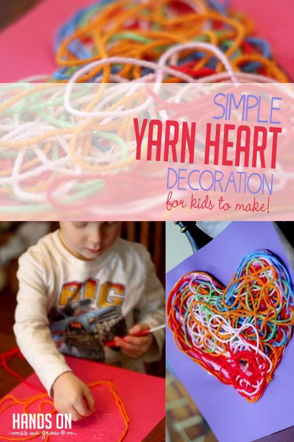 We love a sticky, sensory craft! And this textured heart activity is perfect for Valentine's Day with kids!