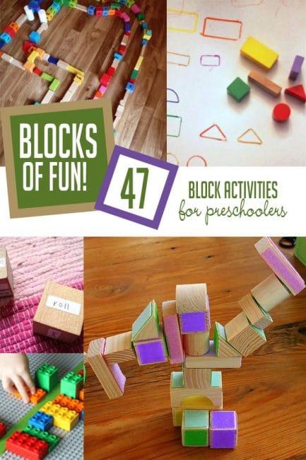 47 Super Fun Block Activities for Preschoolers | HOAWG