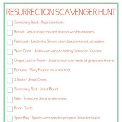 12 easter scavenger hunt ideas that are not so traditional resurrection hunt with printables maxwellsz