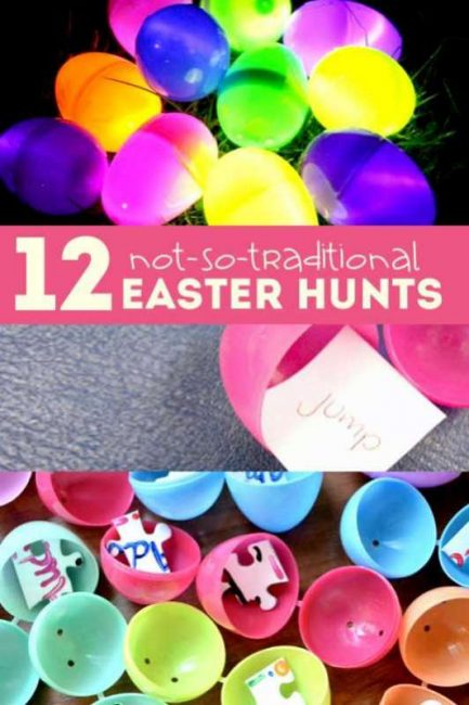 12 Not So Traditional Easter Scavenger Hunt Ideas
