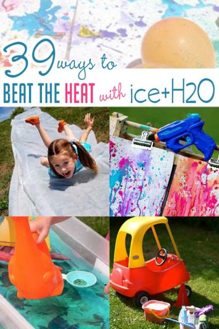 39 Ways For Kids To Beat The Heat With Ice Water Activities