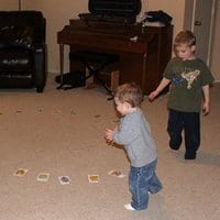 Play Musical Chairs With Cards