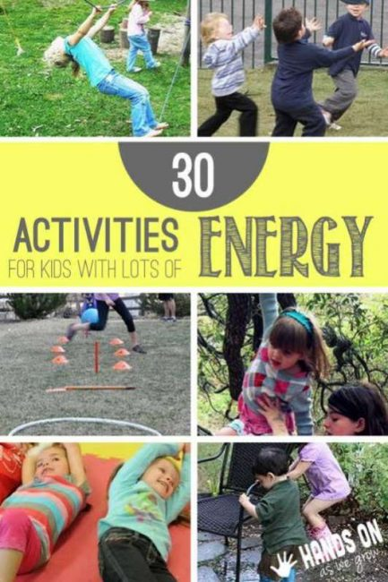 30 Gross Motor Activities For Kids With Lots Of Energy To Spend