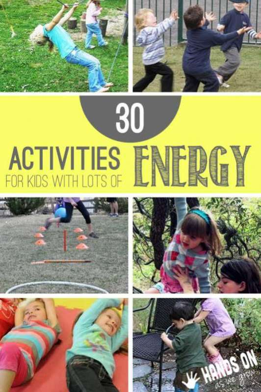 30 Gross Motor Activities For Kids With Lots Of Energy To