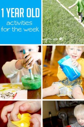 Activities For 12 Month Olds