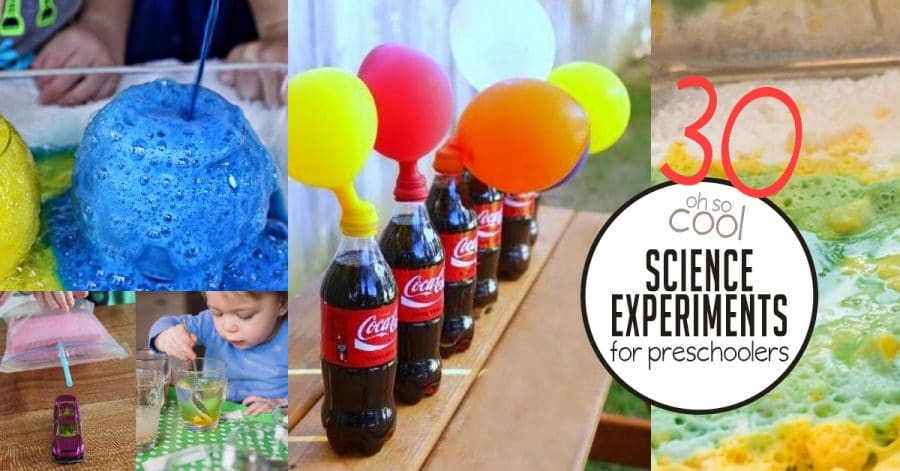 Science Experiments for Preschoolers | hands on : as we grow