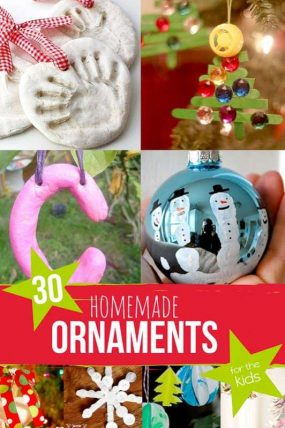 30 Homemade Ornaments For The Kids Hands On As We Grow