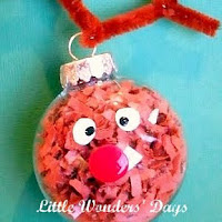 reindeer ornament - Christmas Decoration Ideas For Kids