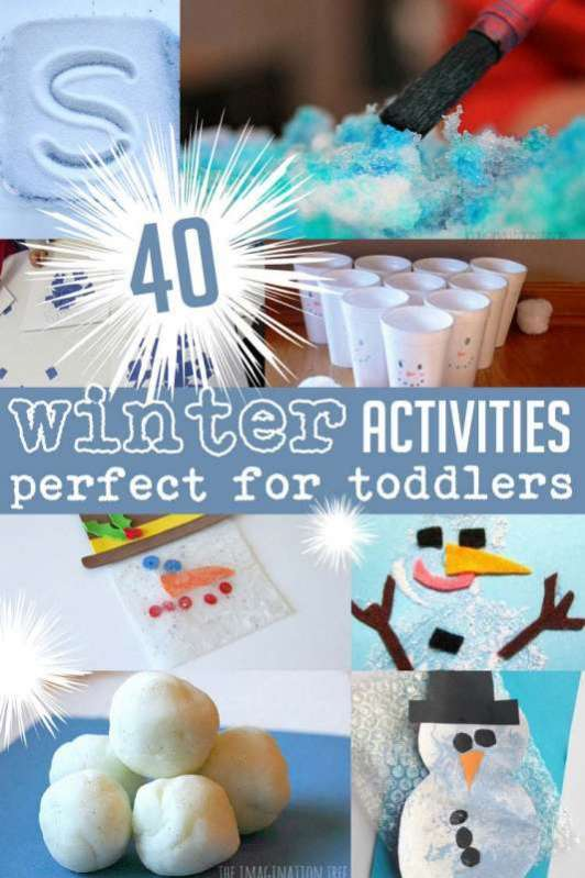 40 winter activities that are perfect for toddlers
