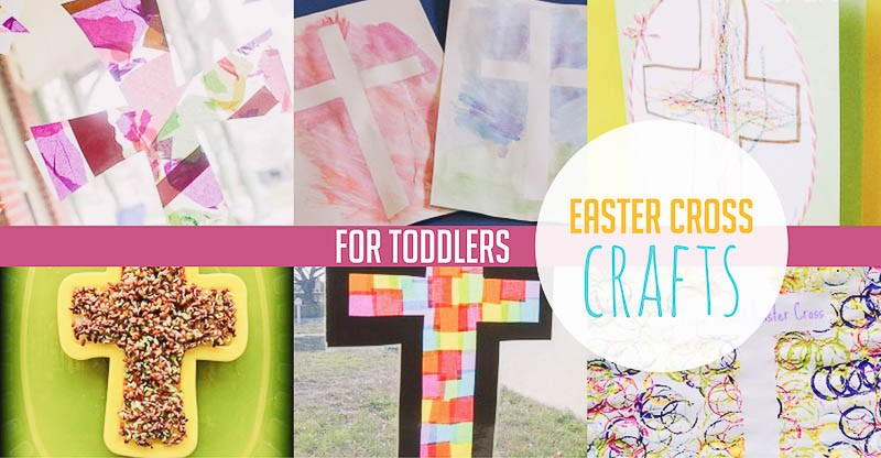 Easter cross crafts for toddlers