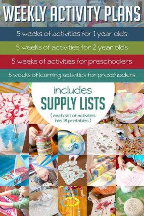 Lots of ideas for little kids here - how to do activities, and so many ideas to do with them.