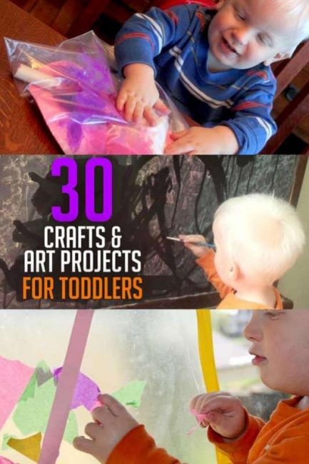 30 toddler crafts and art projects to do