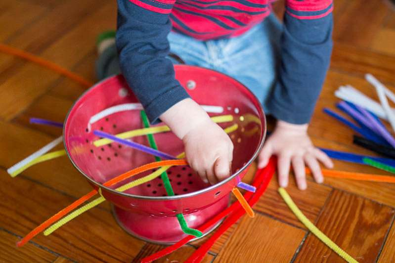 Promote Fine Motor Skills With 30 Materials Activities