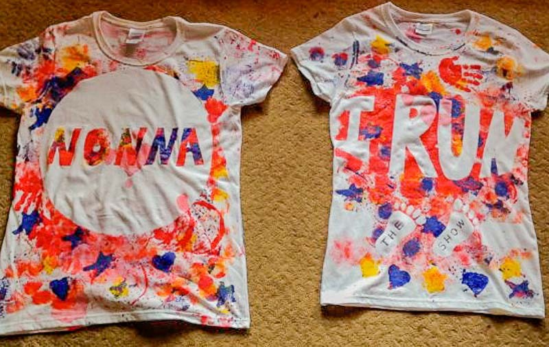 Painted T Shirts Toddler Style Hands On As We Grow