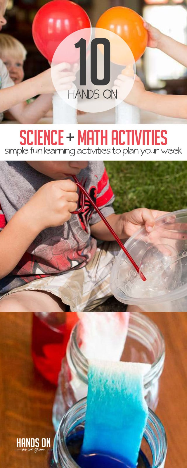 10 Hands-On Science and Math Activities | HOAWG