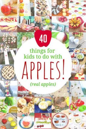 Apple Activities for Kids! 40 Ways to Experiment, Dissect & Eat!