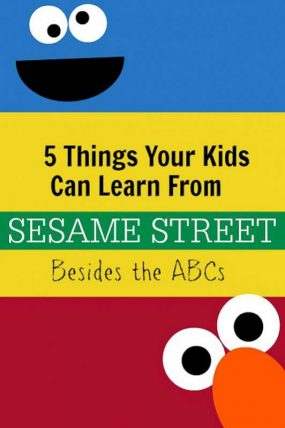 5 Things Your Child Will Learn from Sesame Street