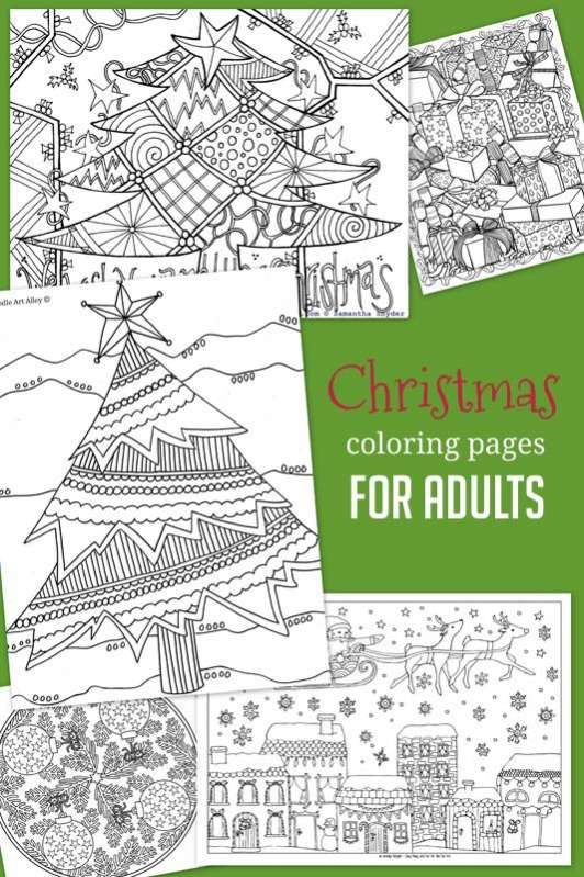 Christmas Amp Winter Coloring Pages For Kids To Color