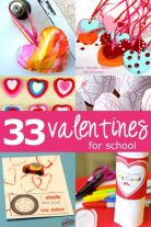 33 super duper cute Valentines for kids to make and take to school