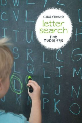Letter Search for Toddlers (Word Search Alternative)