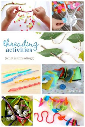Simple Threading Activities for Young Kids